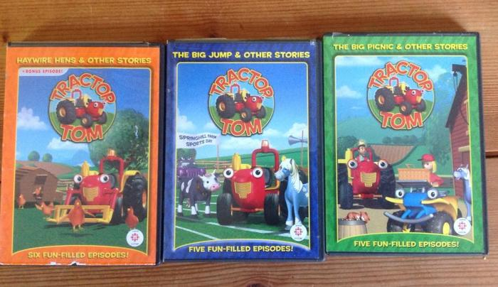 Tractor Tom DVD's