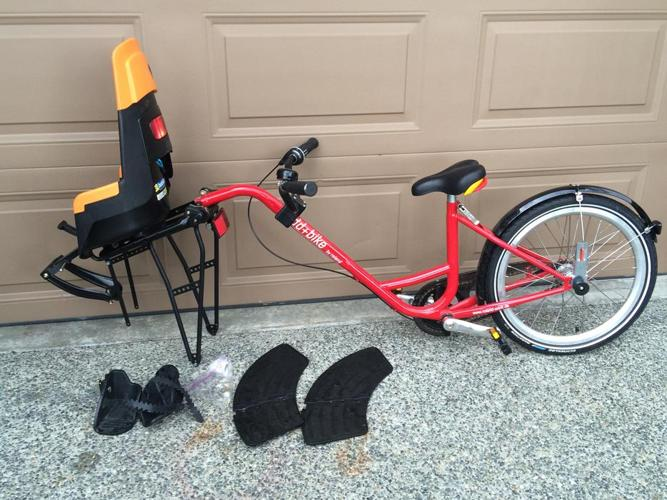 Trailer Bike With Additional child seat