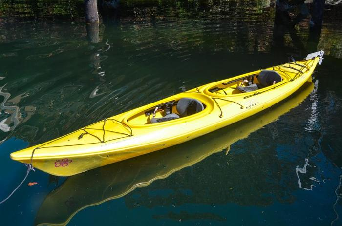 Used Manitou II Kayak ? ?Yellow?