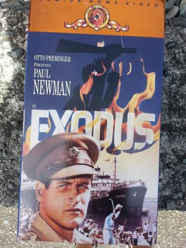 VHS - Exodus- Paul Newman