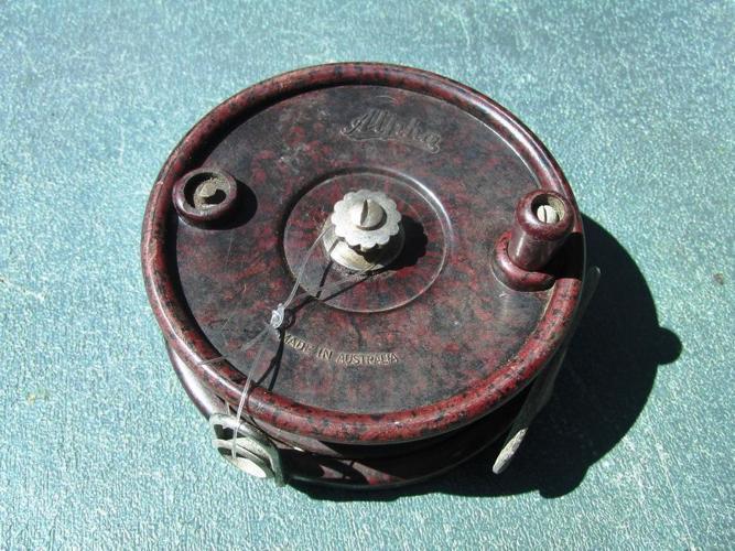 Vintage Alpha Reel for Parts