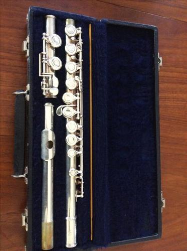Vintage student flute