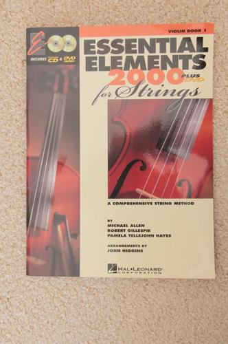 Violin Book +CD+DVD