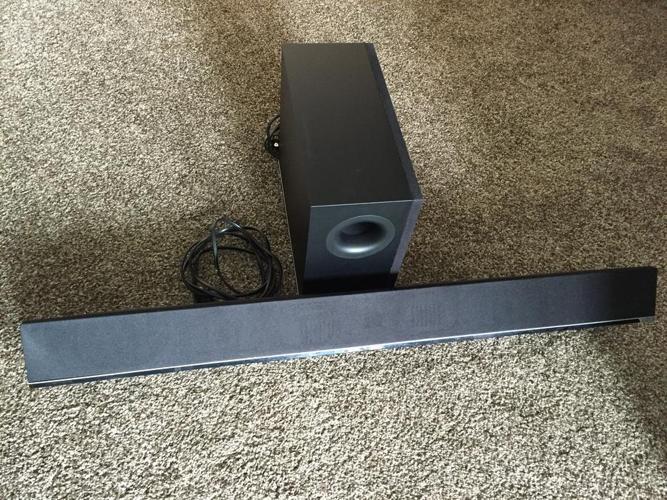 Vizio Speaker bar and sub