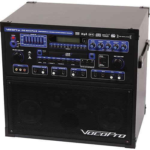 VocoPro Gig Man Plus Professional Karaoke entertainment system