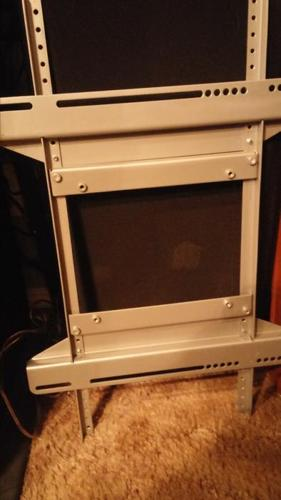 WALL T.V HOLDER FOR UP TO 42 INCH SIZE FLAT SCREEN T.V