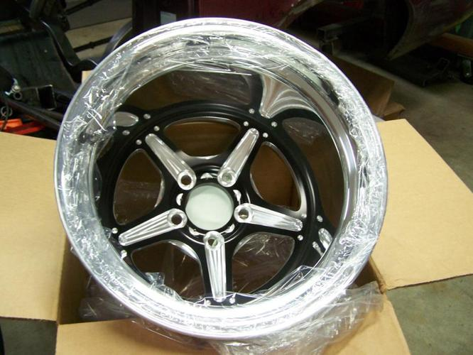 """WANTED: Pair of 15"""" x 8, 10 or 12"""" wide wheels."""