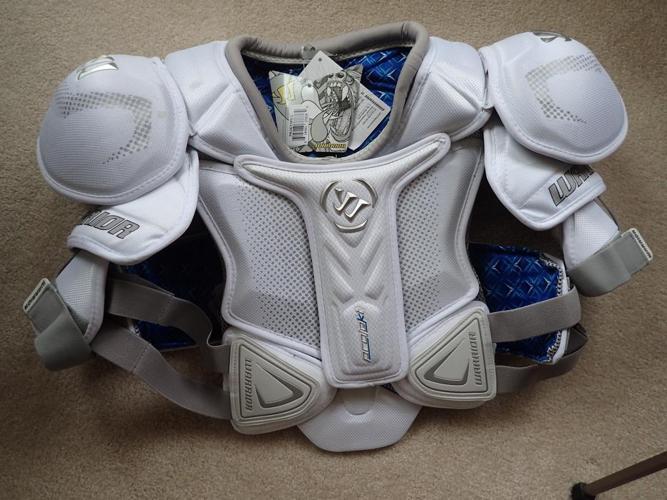 Warrior shoulder pads