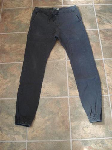 West49 Black Joggers - Size M