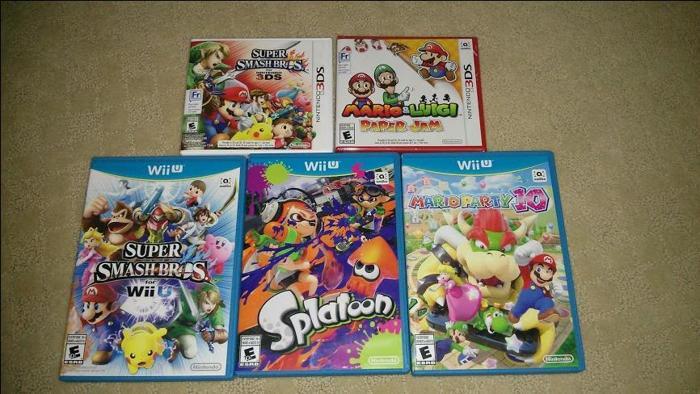 Wii U & 3DS games