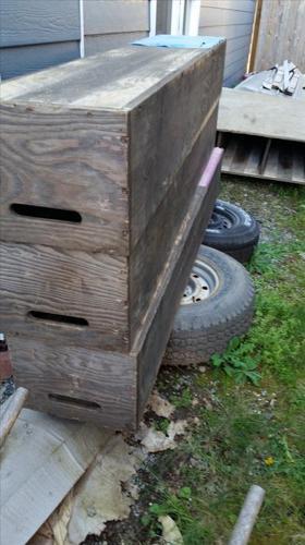 Wood Slider Job Box