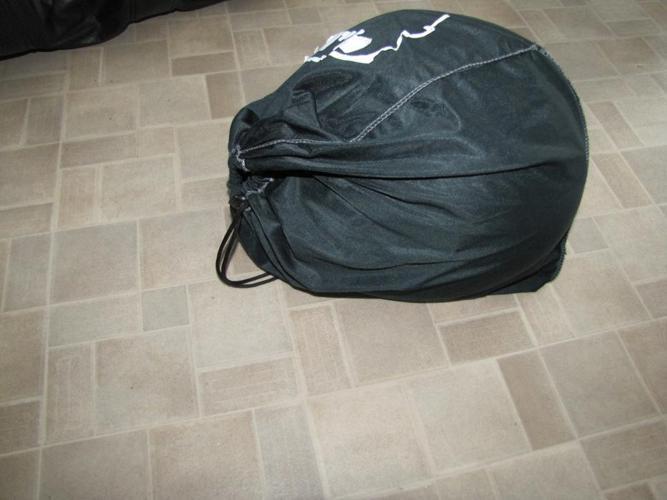 XS HJC Black Full Helmet with Faceshield