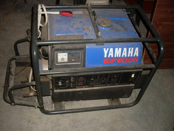Yamaha ef 6000 generator for sale in kamloops british for Yamaha generator for sale