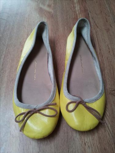 Yellow GAP ballerinas