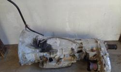 Automatic transmission and NP242 transfer case from 2002 Jeep Liberty with 3.7 L V-6 engine, may fit other Jeeps and Dodge Dakota as well, 240,000 km. Parting out vehicle so other parts except engine available as well. $400 OBO for transfer case and $600