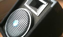 """10"""" FLOOR MONITOR, EMINENCE SPEAKERS 200 -WATT/400 -WATT PEAK BRAND NEW.  $200.00  CALL  403-401-1640"""
