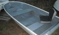 10 foot fibreglass dinghy for $525. It's in excellent condition, no leaks or patches and has a nice folding chair in the back. Call 541-0194 or email.