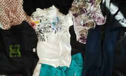 WOMENS EXTRA SMALL TO SMALL LOT 11 ITEMS SELLING TOGETHER NOT SEPARATING GUC NO HOLDS ON OTHER SITES