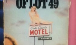 The Crying of Lot 49 by Thomas Pynchonprice negotiableGood for ENGL 223 (school year 2012-2013)