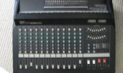 Yamaha 12 channel EMX 2300 mixer. Lots of power and on board effects. In as new condition $500 obo. Cal  250-714 0311