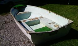 Selling a 14 foot fiberglass row boat. Comes with oars and anchor. $250   905 894-2380