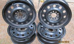 5 X 100 AND 5 X 115 . FIT MANY CARS . LIKE NEW