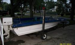 15 FT Chrysler Motor Boat 45 HP Chrysler Motor Complete with trailer. Works great, just do not use and need it gone!! Asking $500.00