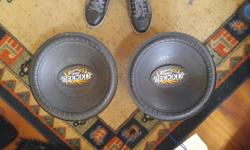 Two 15 inch Kicker Comp Subs $50 each. Buy both and I will throw in the box