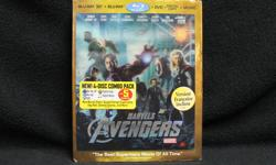 Price including GST & PST Tax : $13 Description : Brand: Blue-ray Type : 3D Features : Marvel Avengers Inventory #164465-18 We also have more items for sale at The Bay Street Broker. Located on the corner of Bay and Government Street with FREE Customer