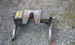 I have a 16 k fithweel hitch with bars bolts and a pad. Good shape I just bought a 21k for $1600