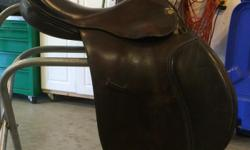 Brown, med/wide fit, no fittings. Older model but great shape. Excellent for jumping or X-country. $450 obo