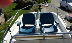 1974 BOSTON WHALER MONTAUK CENTRE CONSOLE IN GOOD SHAPE--COMES WITH A 65 JOHNSON 2 STROKE & A 9.9 MERCURY 2 STROKE KICKER ENGS. BOTH RUN WELL. GALV. HIGHLINER TRAILER WITH SPARE TIRE AND A NEW BOAT COVER. $8500. obo