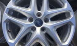 End of summer clearance at The Tire Exchange Cobble Hill!!! These stock Ford Fusion rims are 5X108 bolt pattern. Priced to sell at $200.00 for a matching set of 4. Check out our Facebook page for downloadable coupons and seasonal specials!!!!