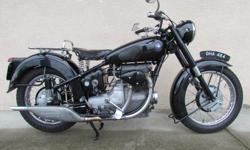 1950 Sunbeam S8 500cc close to original restored over the years very nice bike $11500 Only 2 owners with detailed service and rebuild history. Really fine example of this historic classic. .. Sunbeam experimented with motorised versions of the bicycles