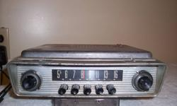 1952-1955 Ford radio. $275 Please call 604-596-2785