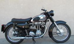 1959 Matchless G80 very nice well kept example of this model for sale at $11500 Matchless and AJS were part of the (at one time) gigantic AMC empire. AMC, short for Associated Motor Cycles, was formed by the owners of Matchless and AJS in 1938 to hold an
