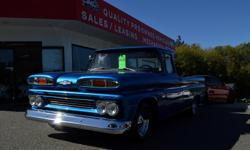 Make Chevrolet Model Pickup Year 1960 Colour blue kms 53650 Trans Manual Recently restored call for more information! *Sale price does not include $285 documentation fee.