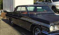 Make Buick Model Wildcat Year 1963 Colour Black kms 127998 Trans Automatic For Sale to a good home, my Uncle Sam's 63 Buick Wildcat. Newly tuned engine, rebuilt brakes, sandblasted and painted rims with new whitewall tires, all cleaned up after 40 years