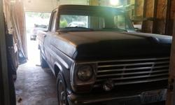 Make Ford Model F-250 Year 1967 Colour Flat Black kms 78000 Trans Manual 1967 Ford F-250 Camper Special. No dents, just needs new interior ceiling material, the choke cable re-attached, paint and a radio. Runs and should be fully drivable. Interior is in