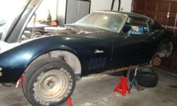 1969 Corvette 350 4 speed numbers matching running condition actual mileage unknown