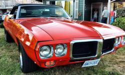 Make Pontiac Colour Orange Trans Automatic kms 1 Beautiful car. Ready to cruise. This has been a labor of love for the past decade but it's time to see it go to a new family. Great car show cruiser. Frame off restoration. Calls only! Txt and email will be
