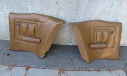 1969 Cougar rear seat quarter panels. $10 each.