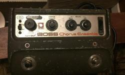 1970's Boss CE-1 - $650 *Price Drop* $600 The most storied Chorus ever. Been used but sounds perfect. Nab a piece of Roland/ Guitar Pedal History. OBO feel free to ask any questions! Thanks Email/Text (250) 532-8731