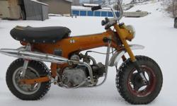 1970 honda ct 70 runs good. ph 250 547 0206.