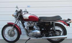 Make Triumph 1971 T120R Classic Motorcycle Currently For Sale $10995 ZERO MILES Full Restoration. The Triumph Bonneville T120 was a Triumph Engineering motorcycle made from 1959 through 1975. It was the first model of the Bonneville series, which was