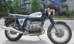 1972 BMW R75/5. * Reduced Price !! * $6299. Very clean and very complete bike! Collector plated when brought in. Restored and rebuilt. Engine, clutch, etc!!! Buy with confidence from a Genuine Dealership. Contact Patrick or Dave at Daytona Motorsports in