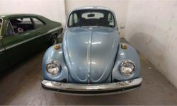 Make Volkswagen Model Beetle Year 1974 Colour Blue kms 15015 Trans Automatic Price: $9,888 Stock Number: FC2437 VIN: 1142092437 Classic 1974 vw bug that has been fully restored. May be the funnest run around vehicle of all time. Come down and see the
