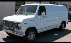 Make Ford Model Econoline Year 1983 Colour Blue Trans Automatic I am looking for a front bumper, spare tire mounting hardware, rear door interior latch, and any other parts you may have. I am saving a 1983 Econoline cargo van from the metal recyclers!