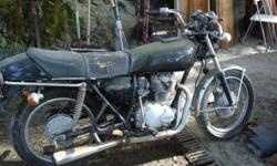 1976 HONDA CJ360T, $400 OBO, need sold ASAP. Hasn't been started in a few years. A bit of work needed to get running. Great project bike, no parts missing, tires in good shape, manual and some spare parts included. Come have a look, give me a call at