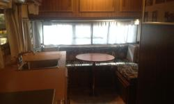 New tires,brakes,roof vents, propane tanks, regulator, inverter, curtains. New plumbing inside and out. All new upholstery,all appliances work. No leaks, one piece roof. Awning in great shape. Garage stored. Must see! Selling for health reasons.